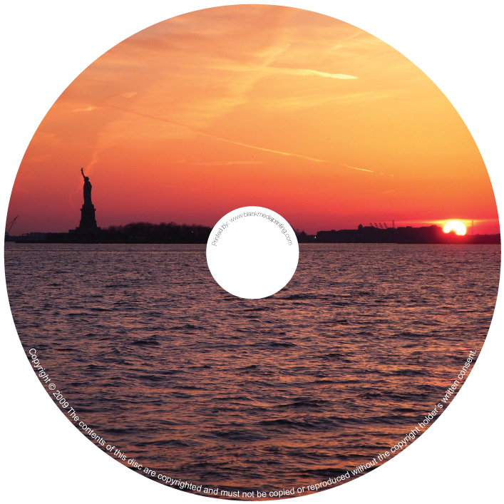 BMP-007 - Statue of Liberty at Dusk