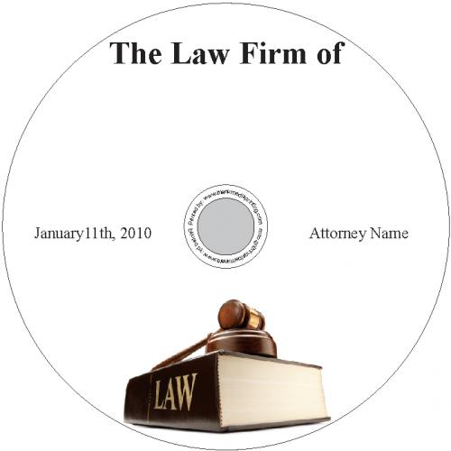 BMP-038 - Gavel on Law Book