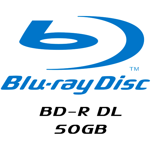 Dual-Layer Blu-Rays (50GB)
