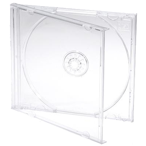 Clear Cd Cases | Clear Jewel Cases | Clear Plastic Cd Cases