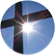 BMP-047 - Cross With Blue Sky