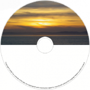 BMP-002-Sunset over ocean
