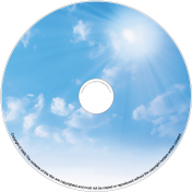 BMP-005 - Blue Sky with Sun
