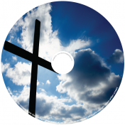 BMP-048 - Cross in Sky of Clouds