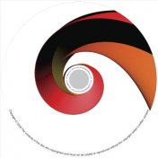 BMP-016 - Red Spiral Small