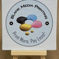 "Custom Printed Canvas Panels 4"" x 4"""