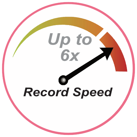 52x Record Speed