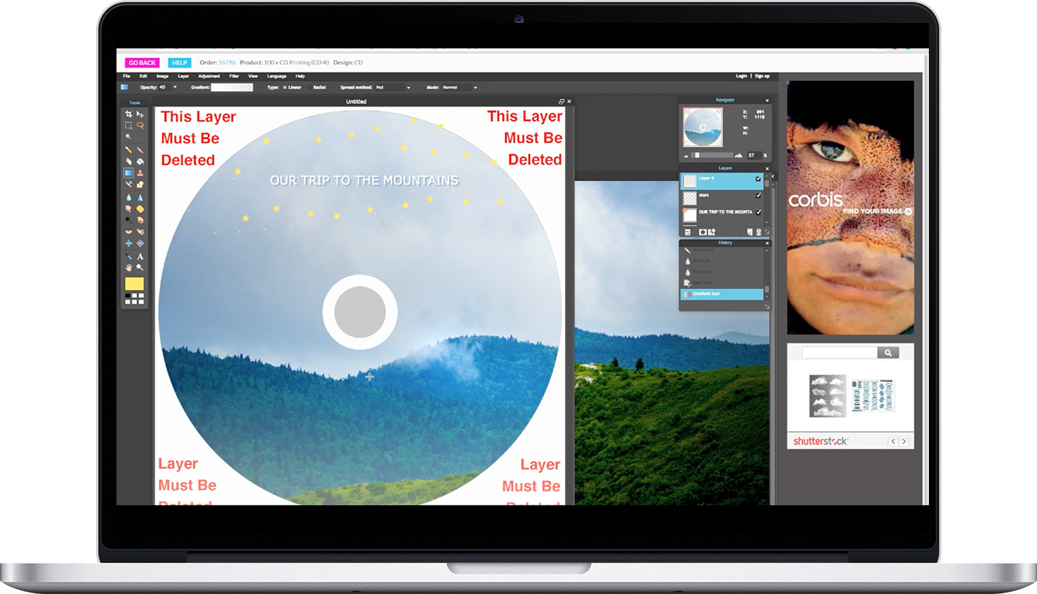 Blank Media Printing  TUTORIAL tools