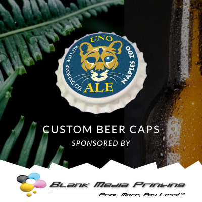 Custom Bottle Cap - Naples Zoo Sponsorship