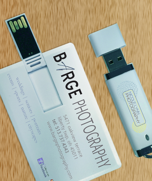 Printed USB Drives